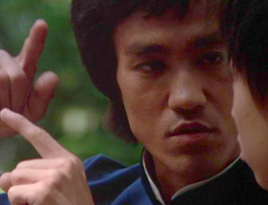 Bruce Lee philosophical lesson in Enter the Dragon
