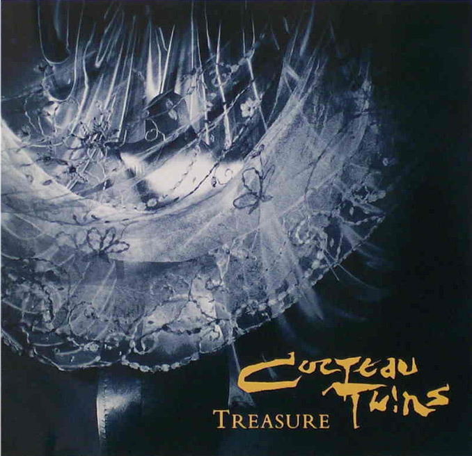 Cover art of Cocteau Twins album Treasure designed by Vaughan Oliver (1984)