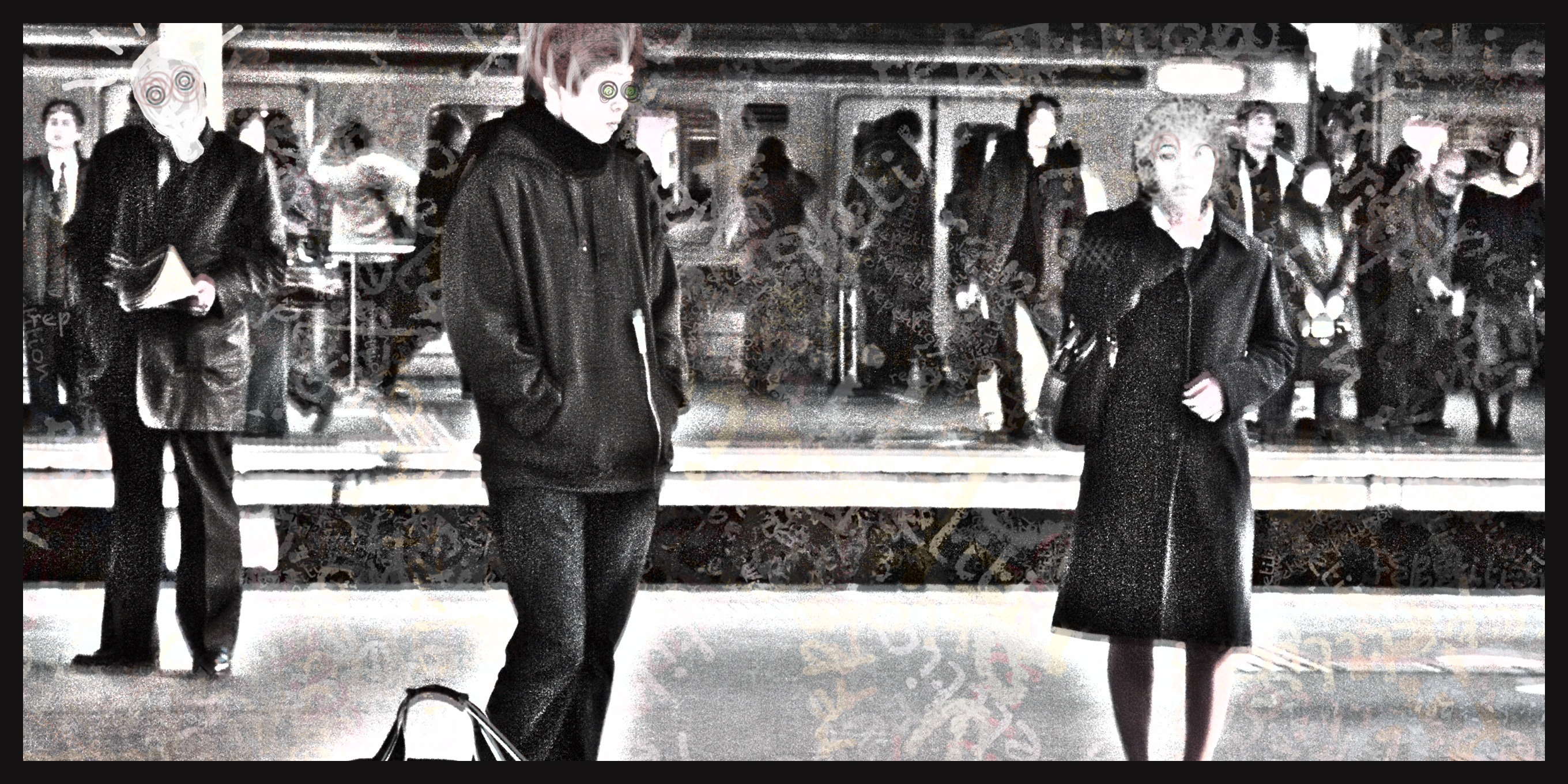 At the Station - Digital Art by Robert Jarrell