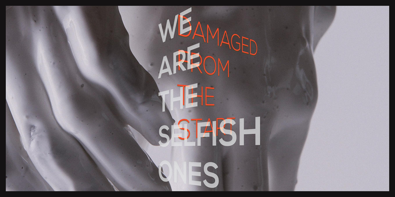 We are the Selfish Ones - Digital Art by Robert Jarrell