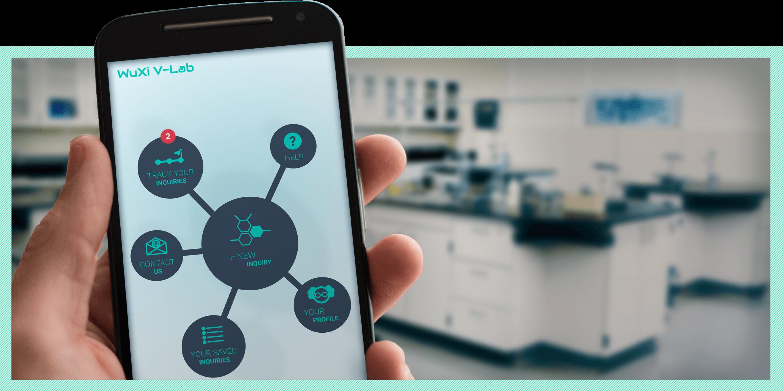 V-Lab Mobile App design by Robert Jarrell